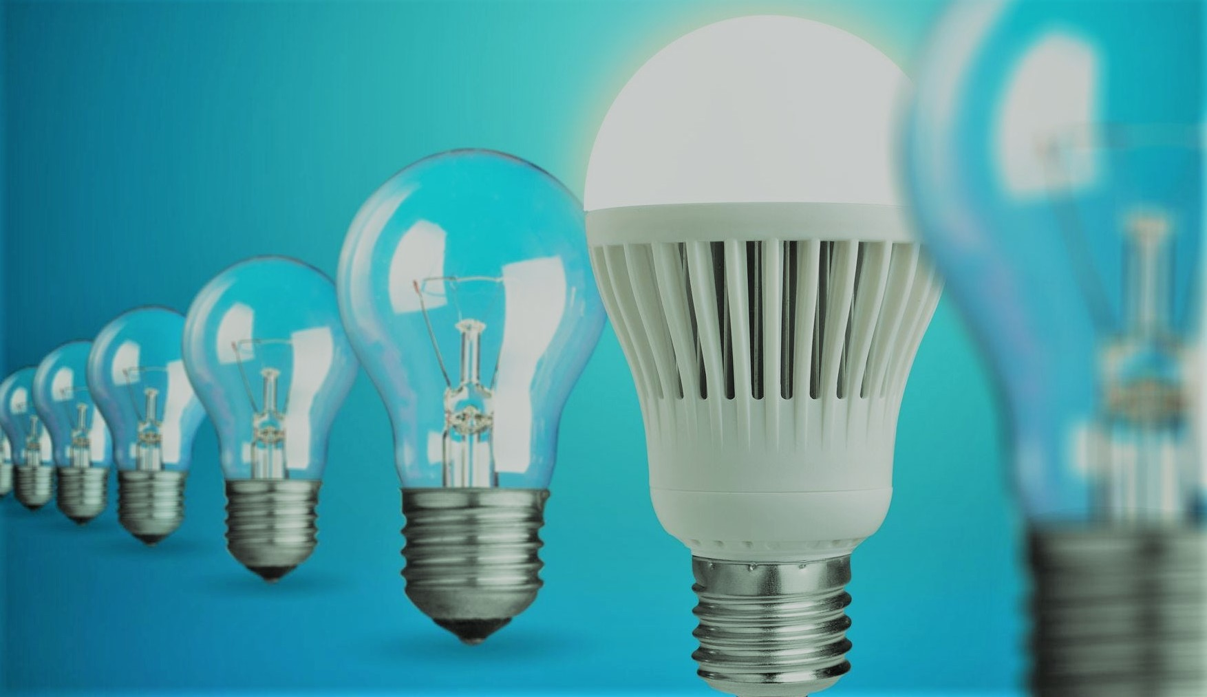 Led light efficiency
