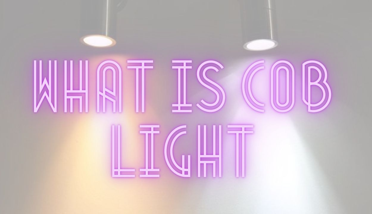 What is a cob light