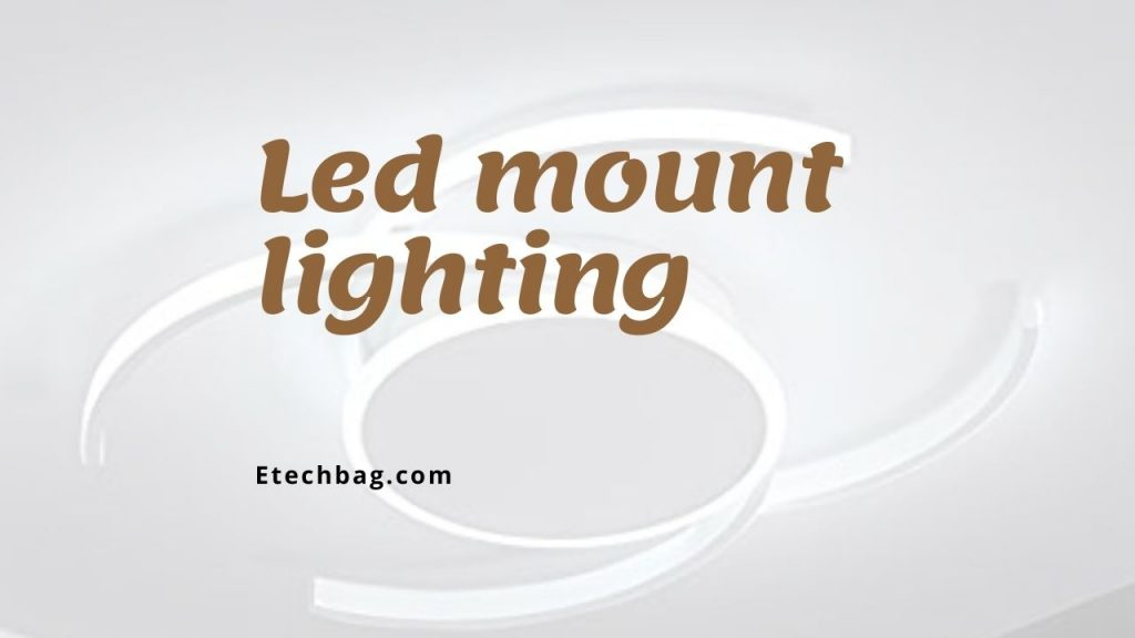 How to light up acrylic with led