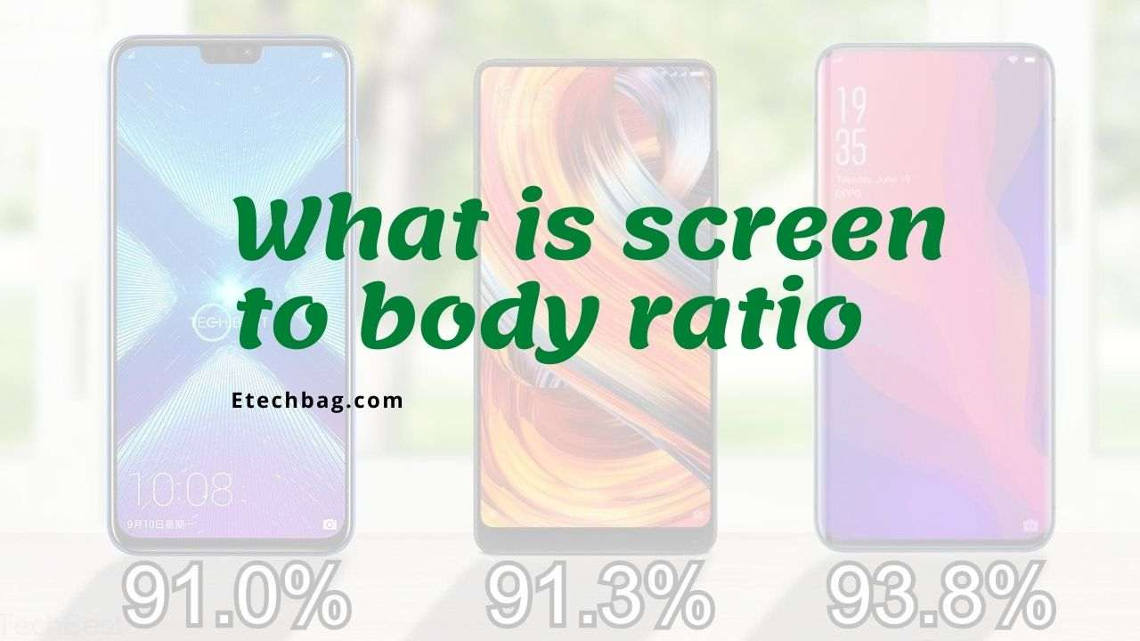 What is screen to body ratio