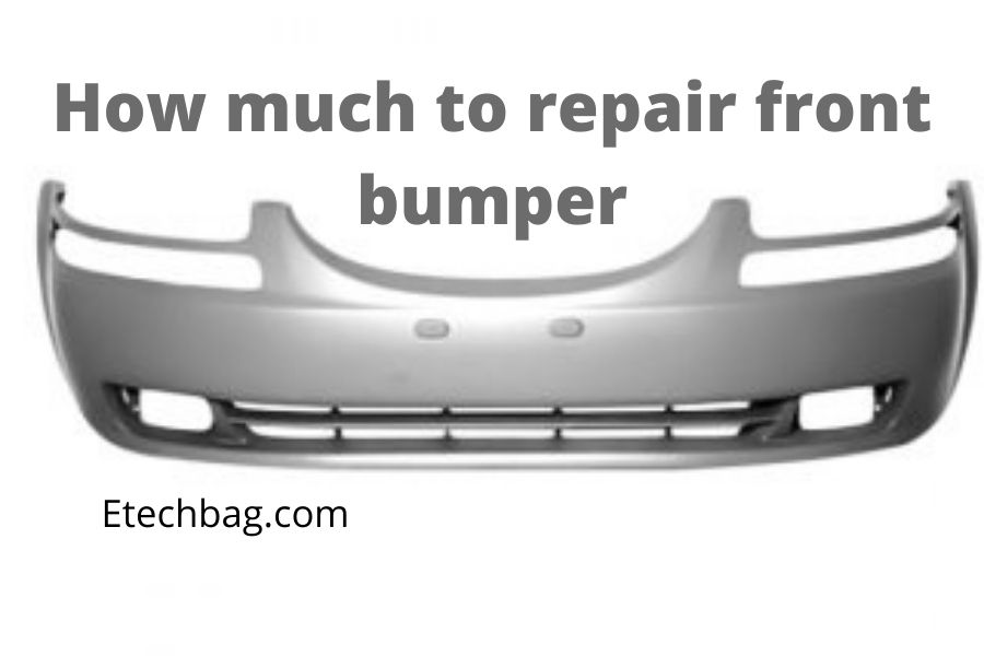 how much to repair front bumper