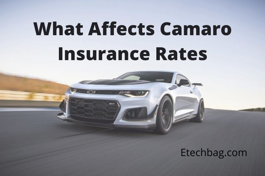 how much is insurance for a Camaro