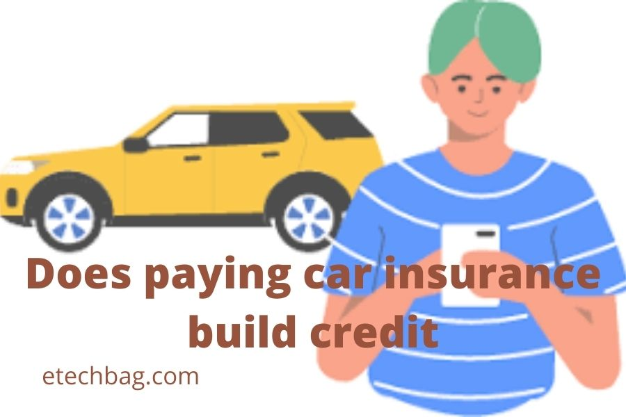 does paying car insurance build credit